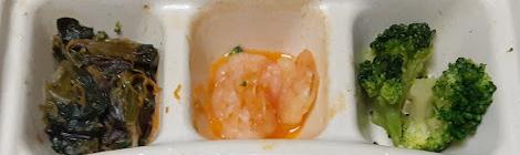 白身魚の野菜あんかけの副菜