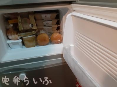 冷凍庫にナッシュたくさん
