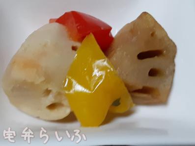 里芋と蓮根